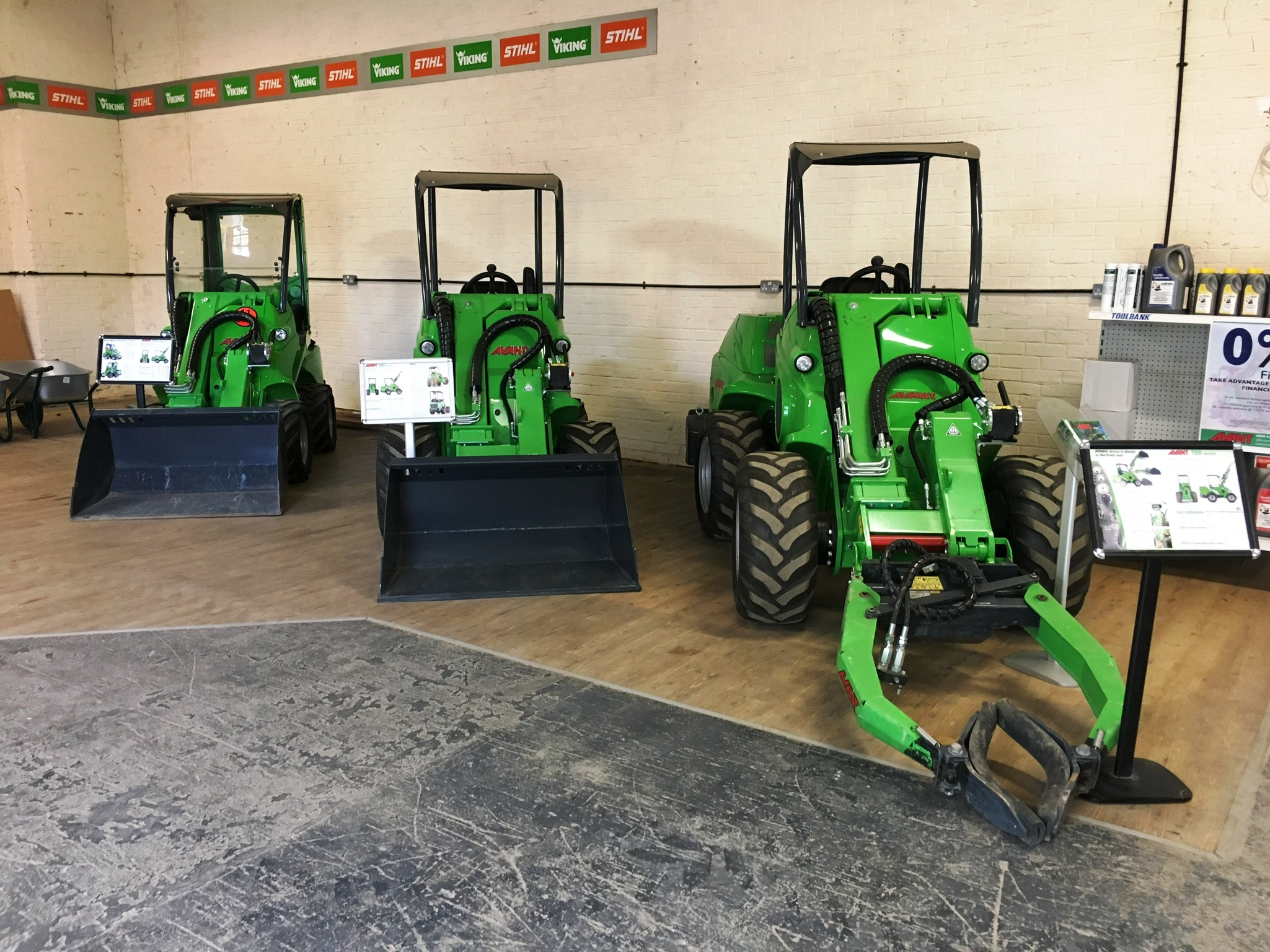 Avant Loader Sales Oxfordshire TVE hire and sales